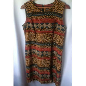 🌴3/$20 Sag Harbor Animal Print Sleeveless Dress
